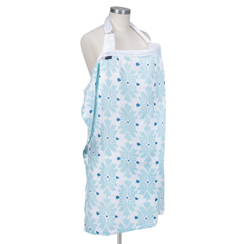Bebe Au Lait Premium Muslin Nursing Cover-Atherton