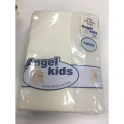 Angel Kids Crib Cotton Fitted Sheets(2 Pack)-Cream