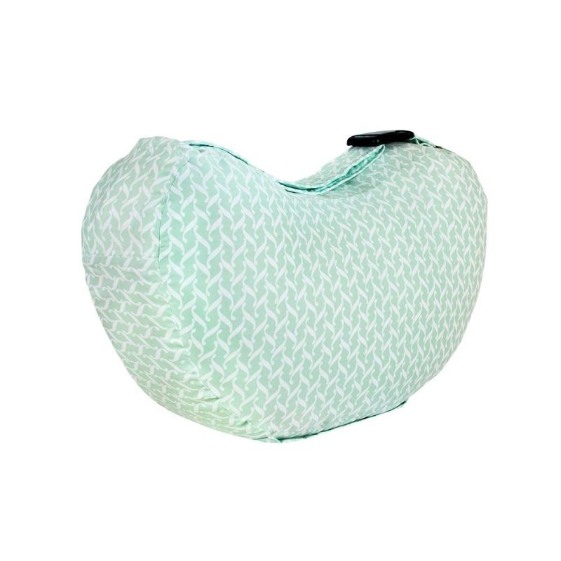 Bebe Au Lait Complete Cotton Nursing Pillow-Agave