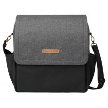 Petunia Pickle Bottom Boxy Backpack-Graphite/Black