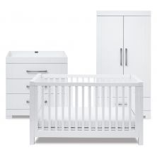 Silver Cross Notting Hill 3 Piece Room Set-White (In Stock Immediate Delivery)