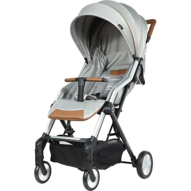 BabyStyle Cabi Stroller-Silver