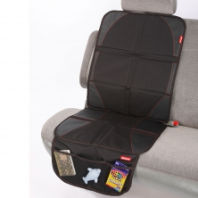 Diono Waterproof Ultra Mat Seat Protector-Black
