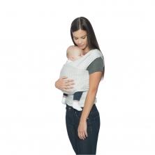 Ergobaby Lightweight Aura Wrap-Grey Stripes