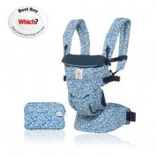 Ergobaby Omni 360 Baby Carrier-Batik Indigo