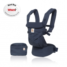 1ac190203d0 Ergobaby Omni 360 Baby Carrier-Navy Mini Dots