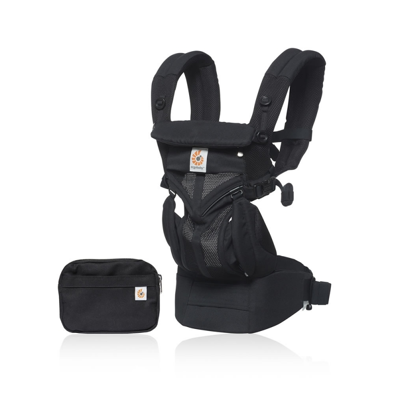 Ergobaby Omni 360 Cool Air Mesh Baby Carrier-Onyx Black