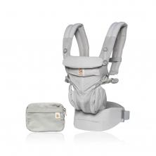 Ergobaby Omni 360 Cool Air Mesh Baby Carrier-Pearl Grey