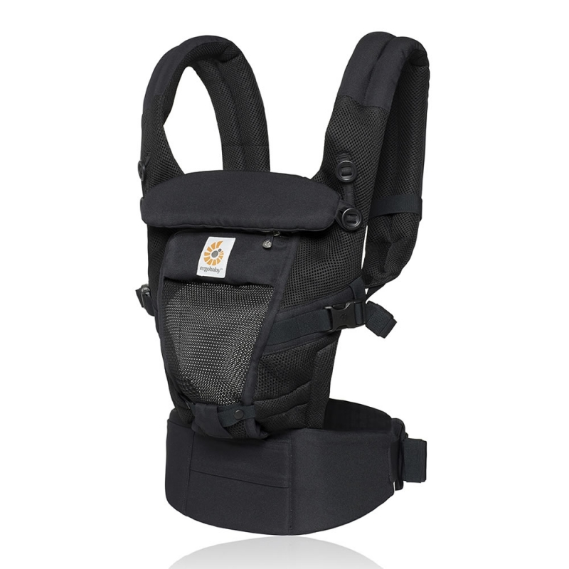 Ergobaby Original Adapt Cool Air Mesh Baby Carrier-Onyx Black