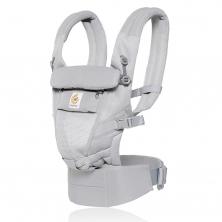 Ergobaby Original Adapt Cool Air Mesh Baby Carrier-Pearl Grey