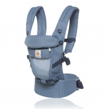 64aff625082 Ergobaby Original Adapt Cool Air Mesh Baby Carrier-Oxford Blue