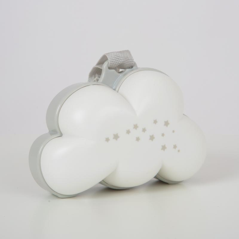 Purflo Dream Cloud Musical Night Light-White