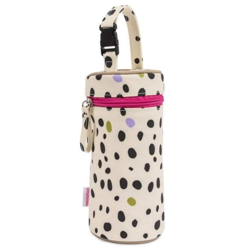 Pink Lining Bottle Holder-Dalmatian Fever