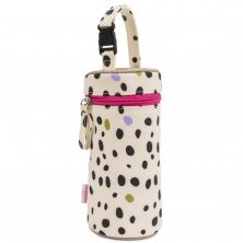 Pink Lining Bottle Holder-Dalmatian Fever