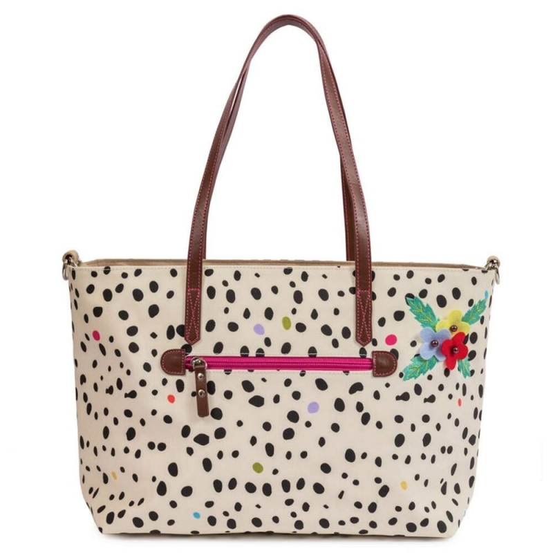 Pink Lining Nottinghill Tote-Dalmatian Fever