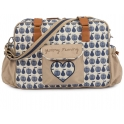 Pink Lining Yummy Mummy Changing Bag-Apples and Pears Blue