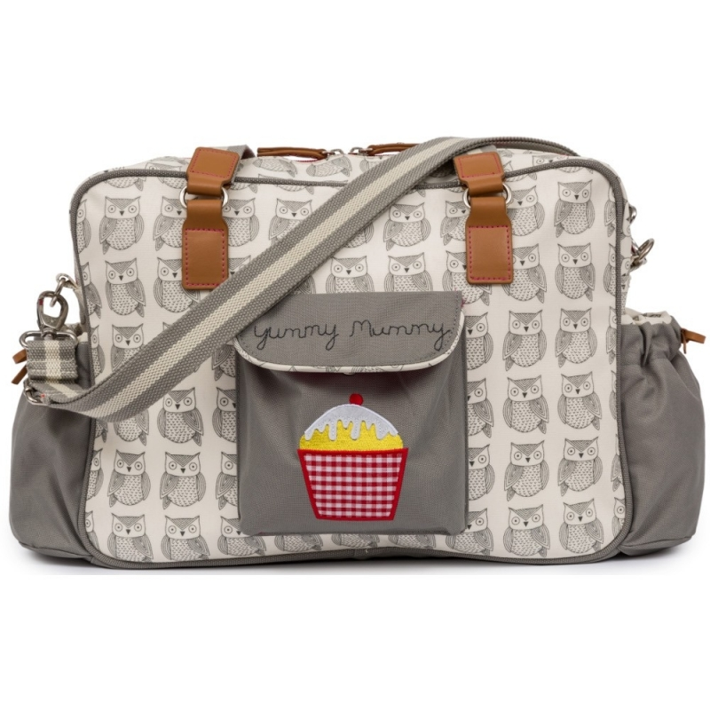 Pink Lining Heritage Yummy Mummy Changing Bag-Wise Owl