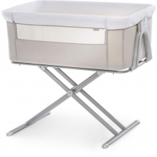 Hauck Face To Me Bedside Crib-Beige