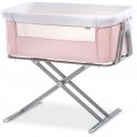 Hauck Face To Me Bedside Crib-Pink