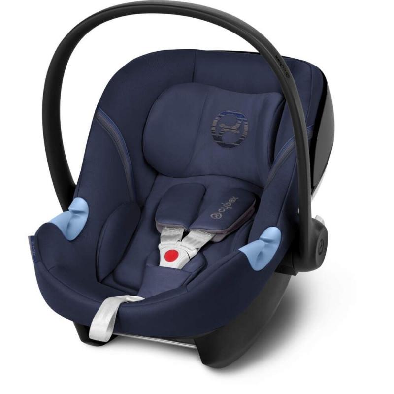Cybex Aton M Group 0+ Car Seat-Demin Blue