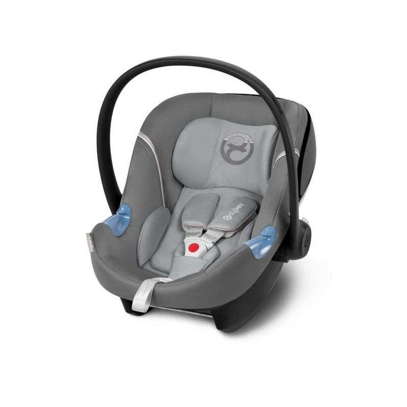 Cybex Aton M Group 0+ Car Seat-Manhattan Grey