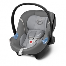 Cybex Aton M Group 0+ Car Seat-Manhattan Grey (2019)