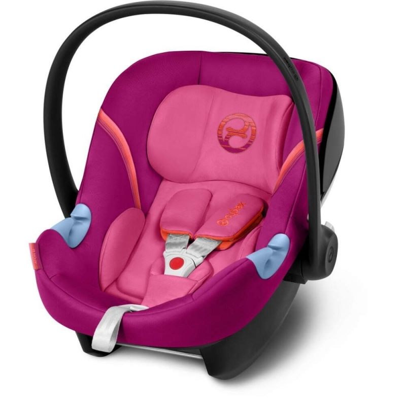 Cybex Aton M Group 0+ Car Seat-Passion Pink