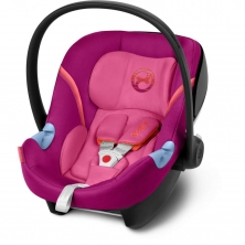 Cybex Aton M Group 0+ Car Seat-Passion Pink (2019)