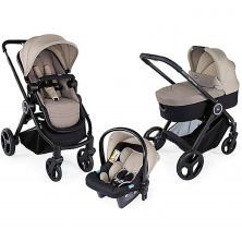 Chicco Trio Best Friend Travel System-Beige