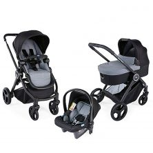 Chicco Trio Best Friend Travel System-Stone