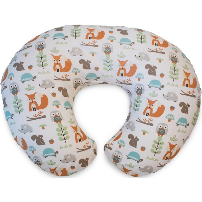 Chicco Boppy Pillow Cotton-Modern Woodland (New)