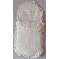 Kiddies Kingdom Broderie Anglaise Standard Cosytoe-Cream
