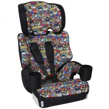 Kids Embrace High Backed Booster 1/2/3 Car Seat-Justice League