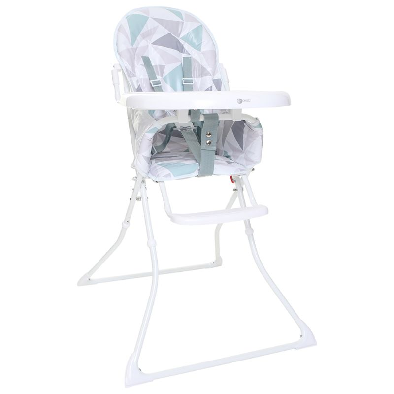 My Child Graze 3in1 Highchair, Booster & Stool-Red