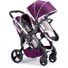 iCandy Peach Chrome Blossom Pushchair-Damson (New)