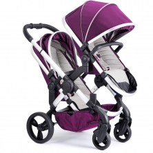 iCandy Peach Satin Blossom Pushchair-Damson (New)