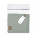 Kidsmill Knitted Green Bedding for Cot Bed