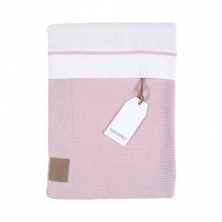Kidsmill Knitted Pink Bedding for Crib