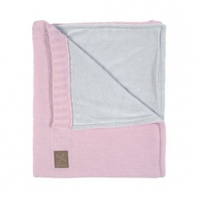 Kidsmill Knitted Pink Babyblanket for Crib