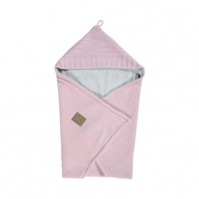 Kidsmill Knitted Pink Bathcape