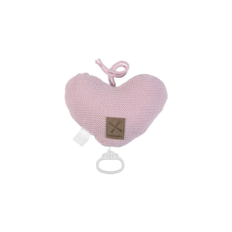 Kidsmill Knitted Pink Music Box