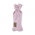 Kidsmill Knitted Pink Hot Water Bottle Cover