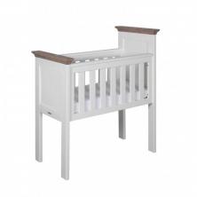 Kidsmill Savona Crib without Cross-White/Grey