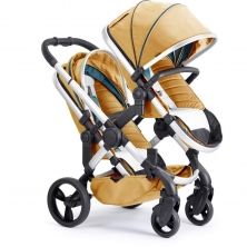 iCandy Peach Satin Blossom Twin Pushchair-Nectar (New)