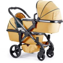 iCandy Peach Phantom Blossom Twin Pushchair-Nectar (New)