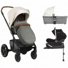 Nuna Mixx Pipa Lite 3in1 Travel System-Birch (New 2019)
