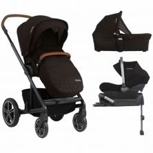 Nuna Mixx Pipa Lite 3in1 Travel System-Caviar (New 2019)