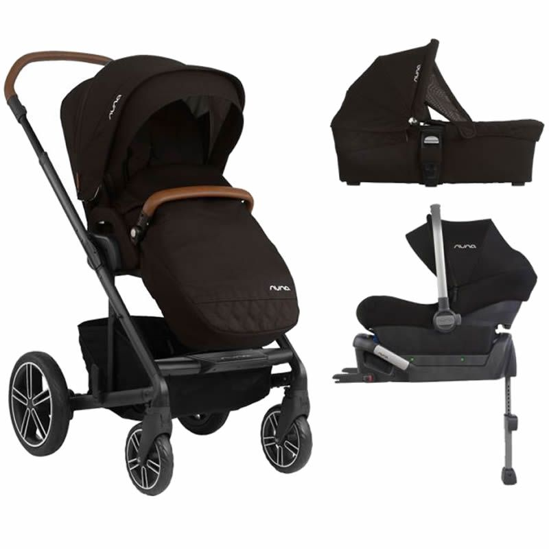 Nuna Mixx Pipa Lite 3in1 Travel System Caviar New 2019