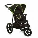 Hauck Runner Pushchair-Black/Neon/Yellow