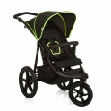 Hauck Runner Pushchair-Black/Neon/Yellow (New 2018)